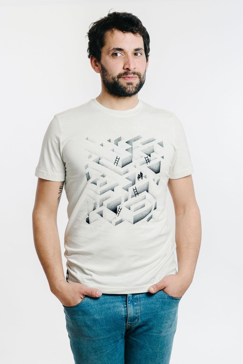 camiseta de laberinto