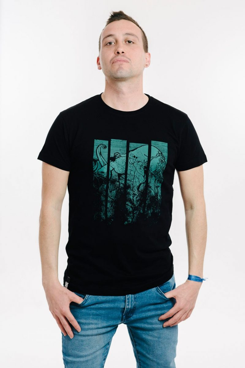 camiseta ochentera