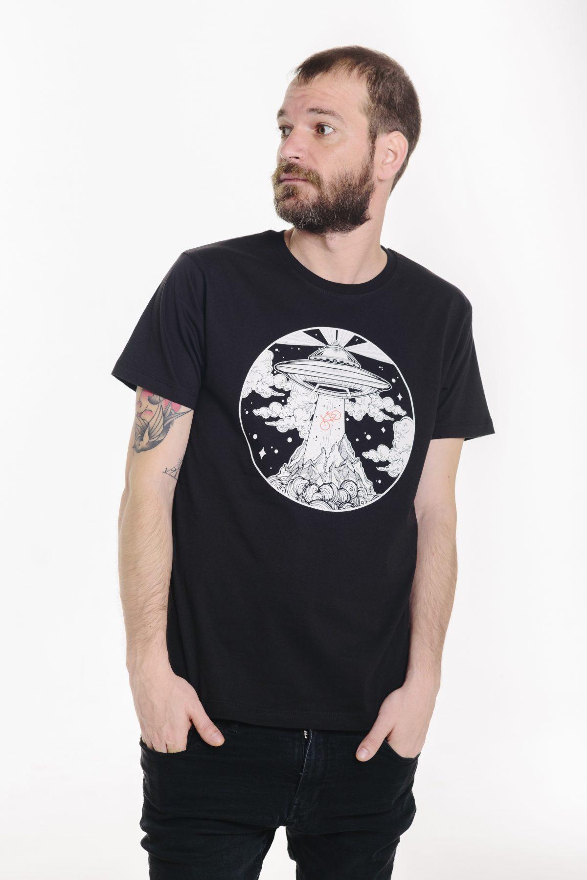 camiseta de ovnis