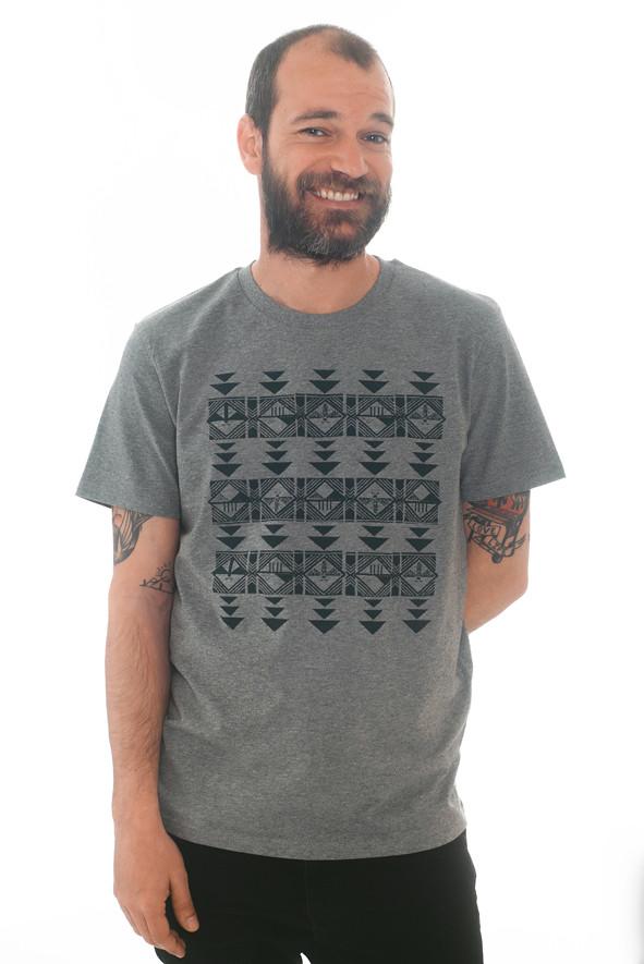 camiseta diseños geométricos