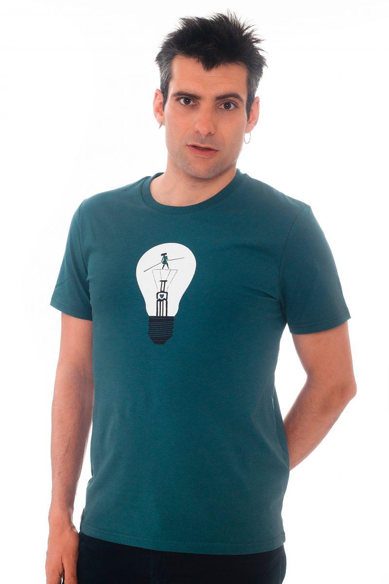 camiseta equilibrista
