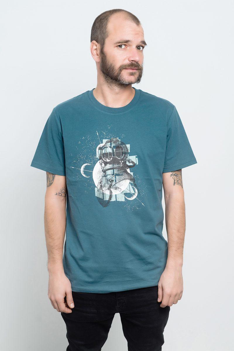 camiseta de astronauta y buzo