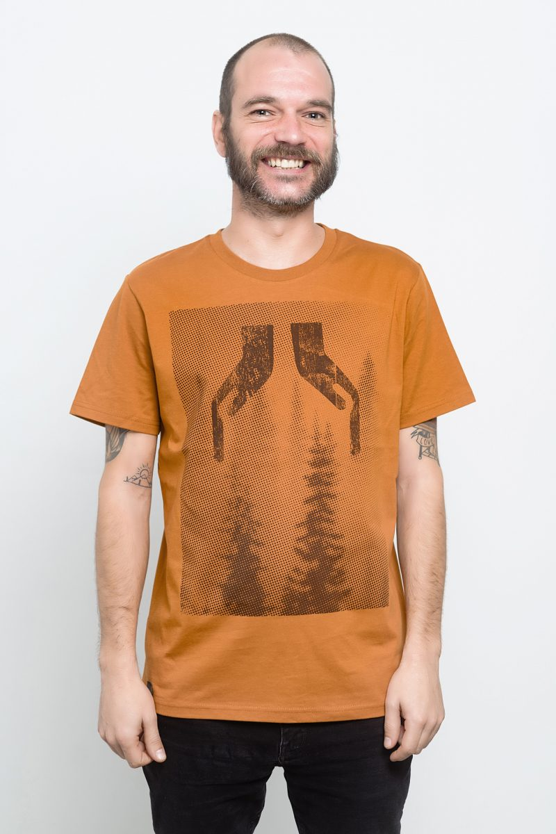 camiseta de bosque