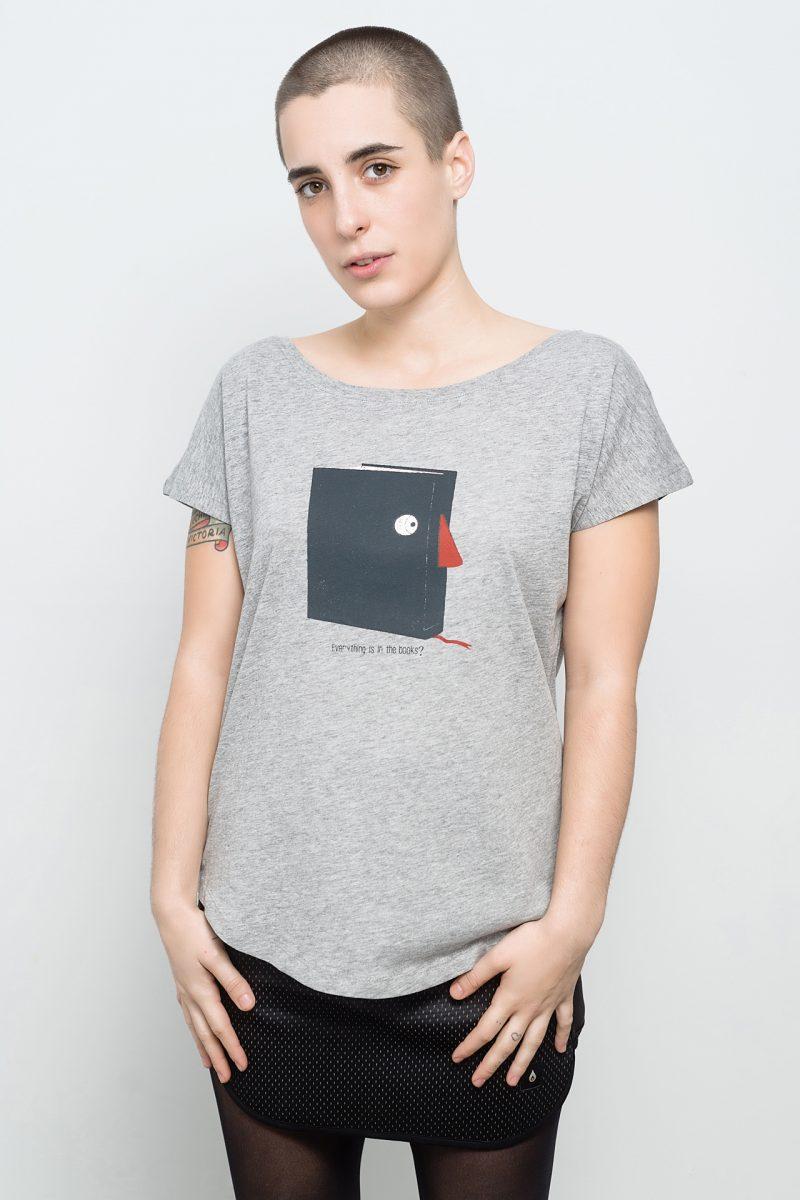 camiseta de libro