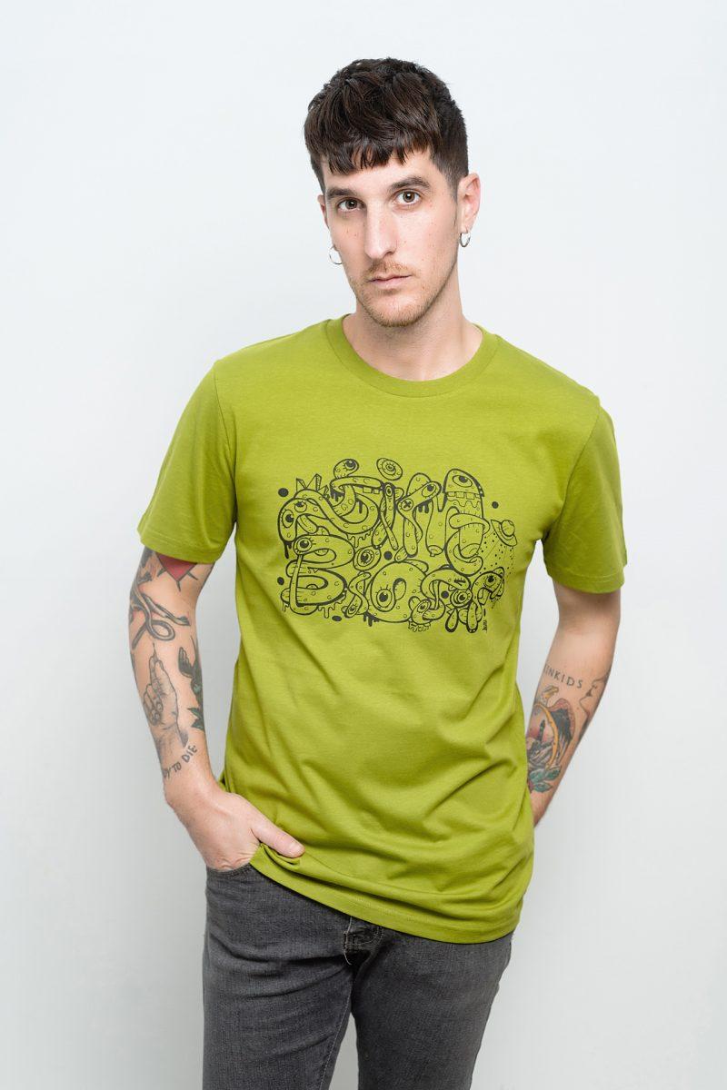 camiseta de aliens